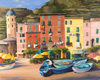 Margo Pullman Oil Painting: Vernazza Itlay